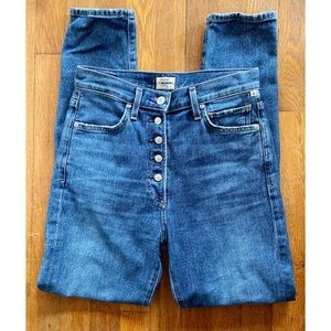 CoH Olivia High Rise Slim Jeans in Solo Wash 25